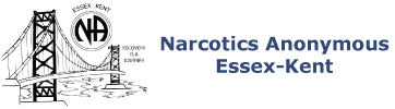 Narcotics Anonymous Essex-Kent Logo